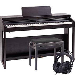 Roland RP-701 Dark Rosewood Digital Piano Package