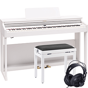 Roland RP-701 White Digital Piano Package