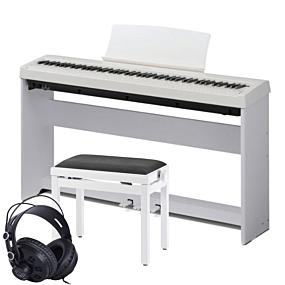 Kawai ES-110 Hvid Digital Piano Pakkeløsning