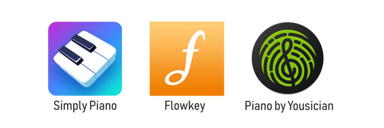 Vi sammenligner forskellige apps til at lære klaver