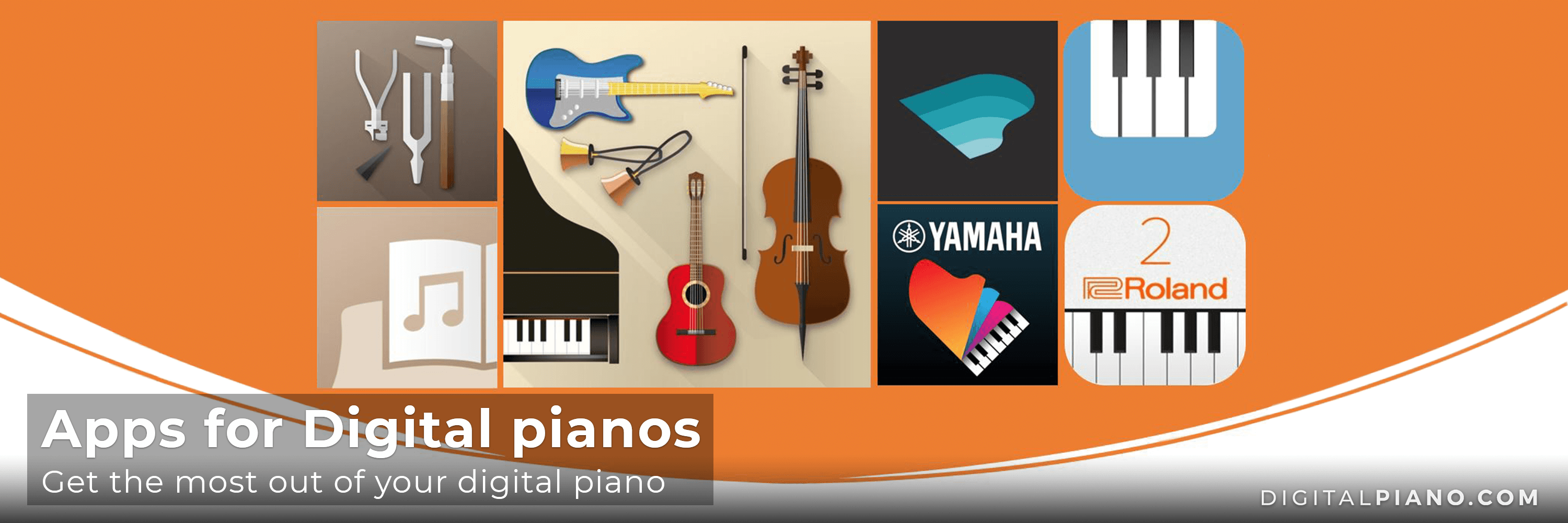 Apps for digital pianos