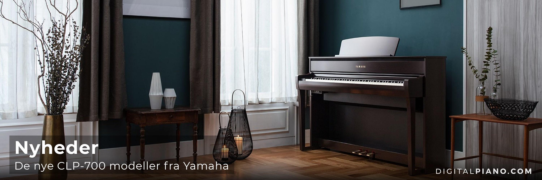 Yamaha præsenterer den nye CLP-700 serie