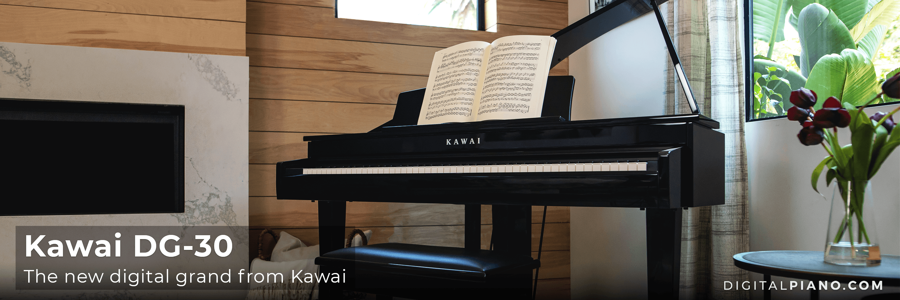 The new digital grand from Kawai: DG-30!