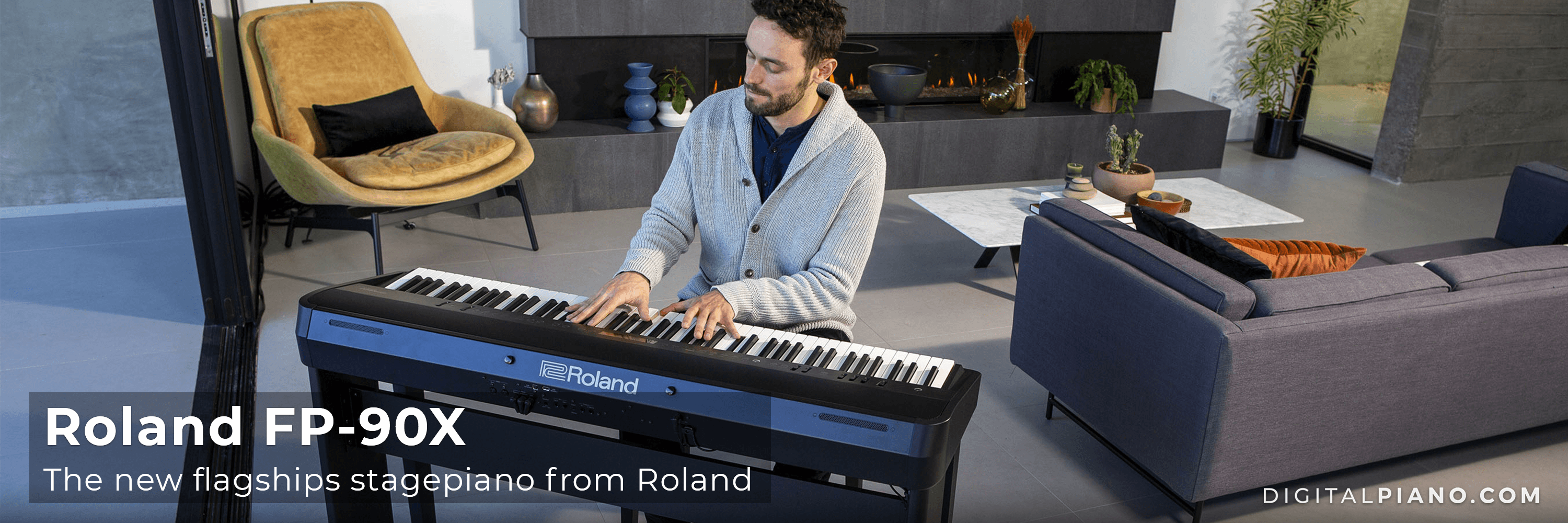 The new Roland FP-90X