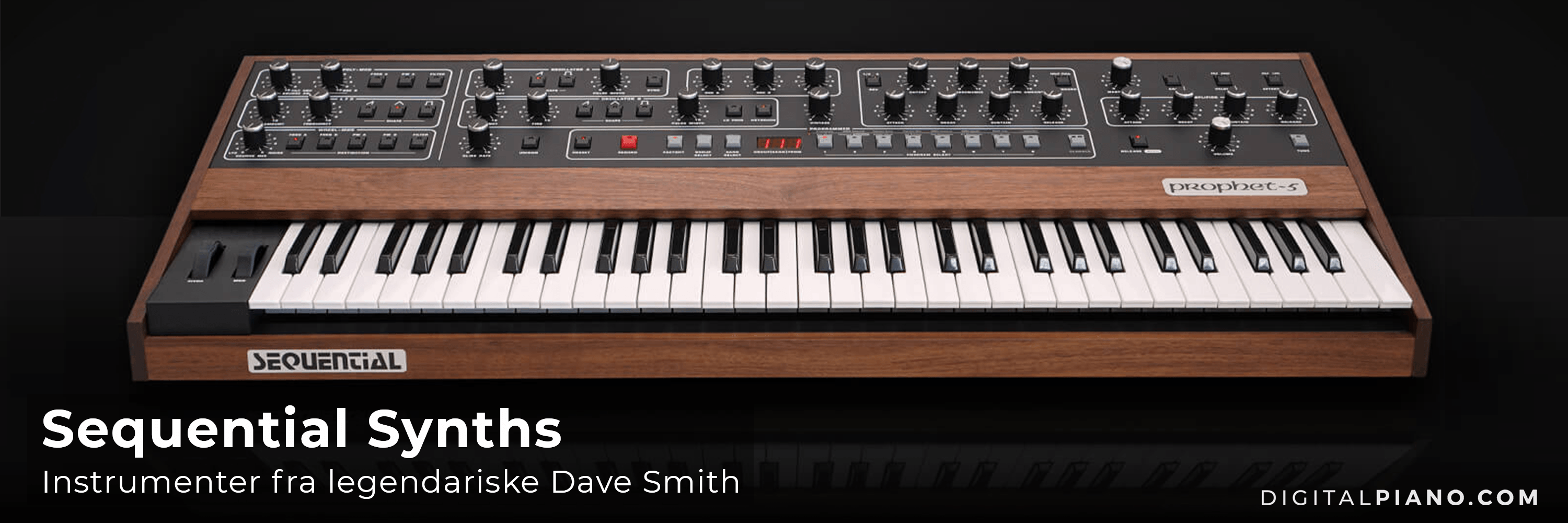 Velkommen til Dave Smiths Sequential Synthesizers