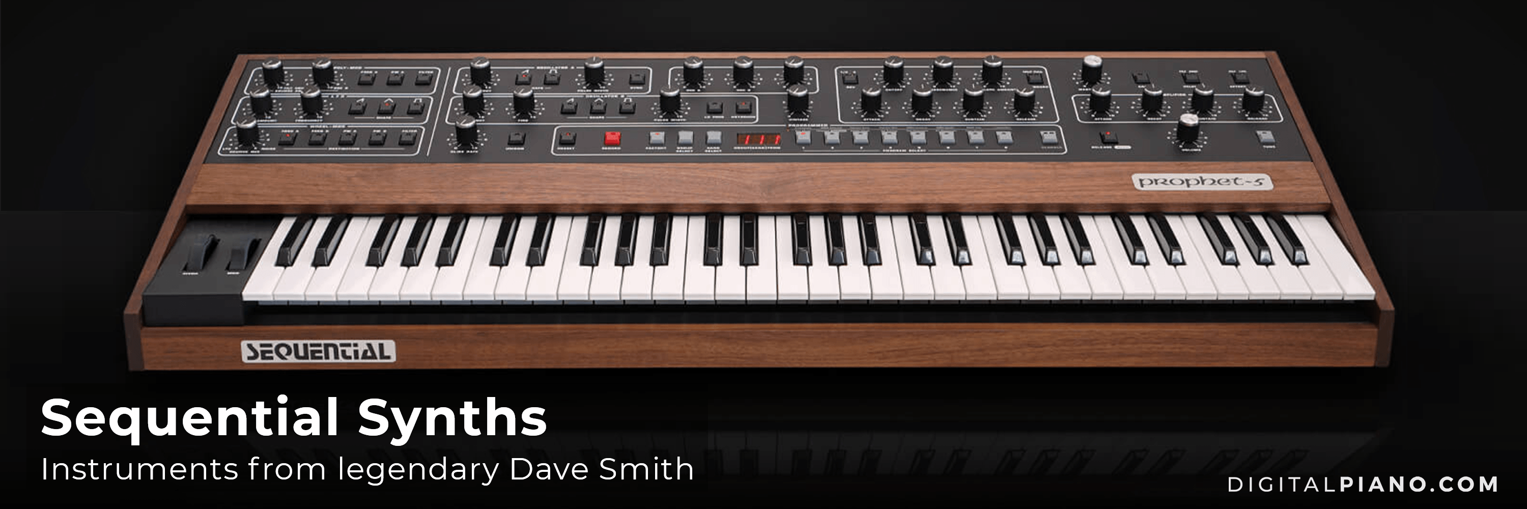 Say hello to Dave Smith Sequential Synthesizers!