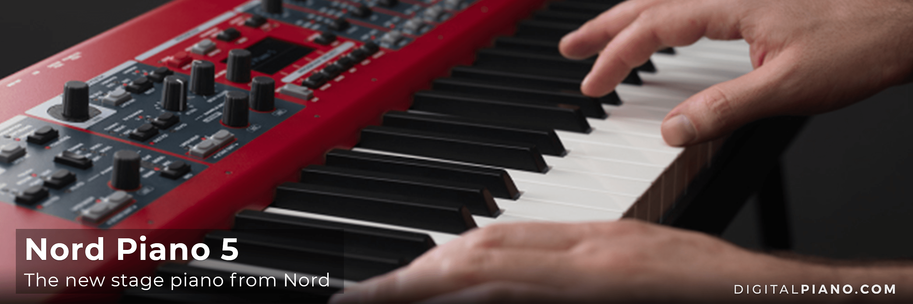 The new Nord Piano 5