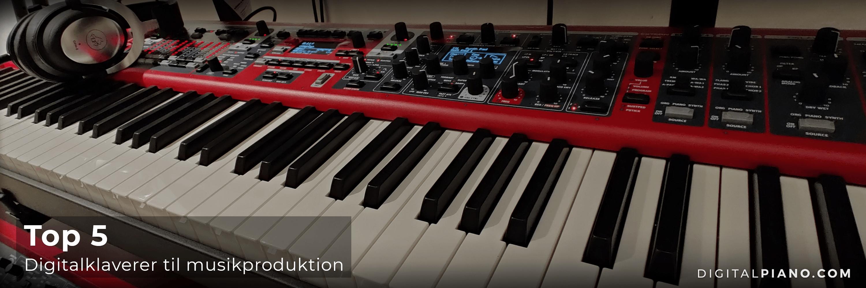 Top 5 instrumenter til musikproduktion