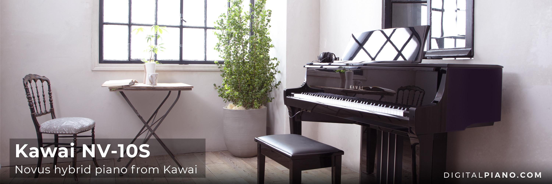 New! Kawai Novus NV-10S hybrid piano