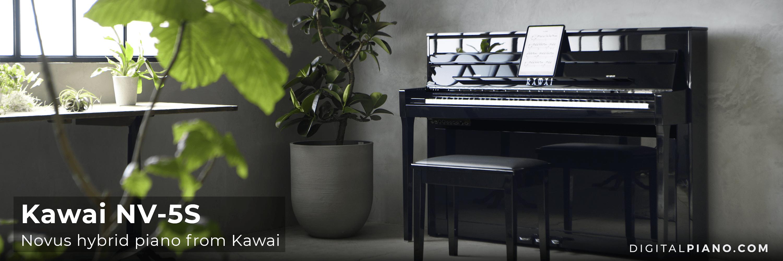New! Kawai Novus NV-5S hybrid piano