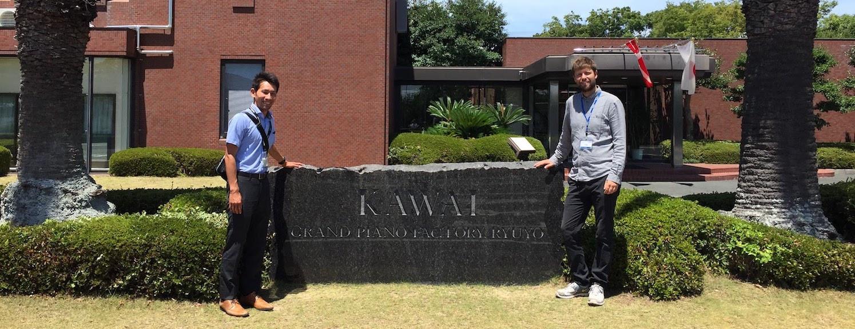 Besøg på Kawai fabrikken
