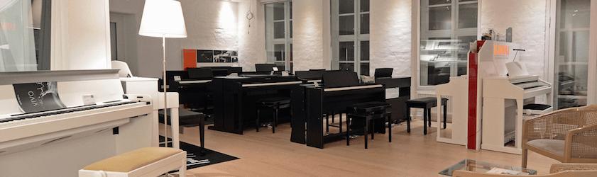 Digitalpiano.dk åbner Danmarks største digitalpianobutik