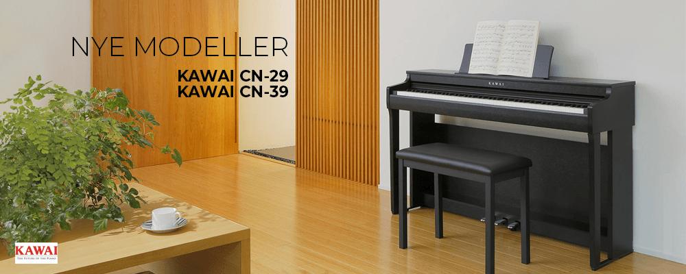 Her er den nye Kawai CN-serie