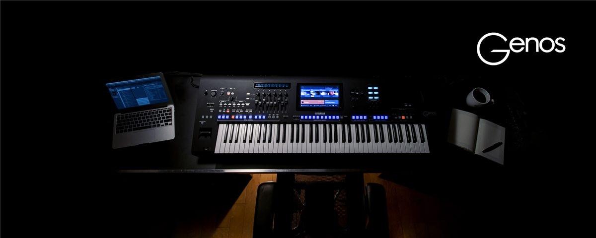 Yamaha Genos koncert & udstilling af tangentinstrumenter