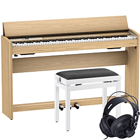 Roland F-701 Light Oak Digital Piano Pakettitarjous