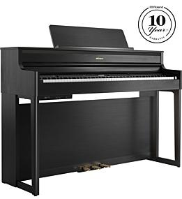 Roland HP-704 Charcoal Black Digital Piano
