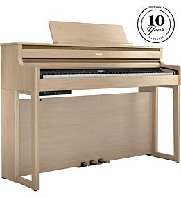 Roland HP-704 Light Oak Digital Piano
