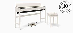 Roland KF-10 Sheer White Digital Piano