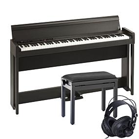 Korg C1 AIR Ruskea Digital Piano Pakettitarjous