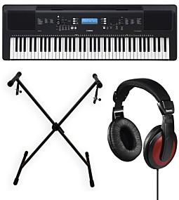 Yamaha PSR-EW310 + X-Stand + Headphones (Hama)