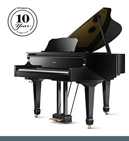 Roland GP-609 Piano Numérique Noir