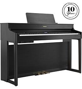 Roland HP-702 Piano Numérique en Noir Charbon