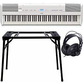 Yamaha P-515 Piano Numérique Blanc + Support (DPS-10) & Écouteurs