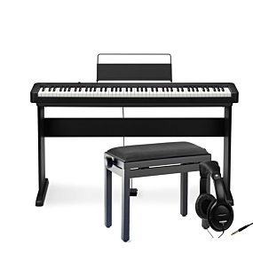 Casio CDP-S100 with stand, bench and headphones