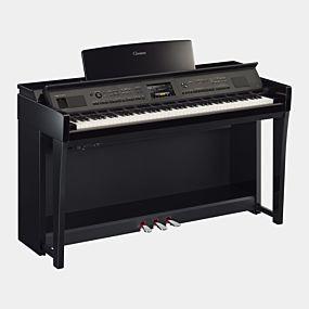 Yamaha CVP-805 Clavinova Polert Svart Digital Piano