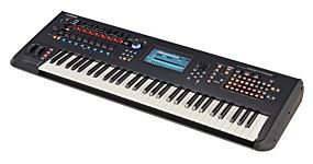 Yamaha Montage 6 Synthesizer Svart