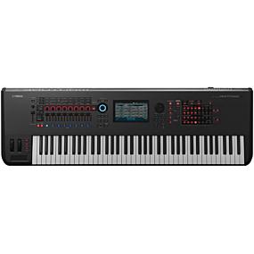 Yamaha Montage 7 Synthesizer Svart