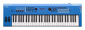Yamaha MX61 II Blue Music Synthesizer