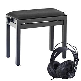 Tilbehørspakke (Pianokrakk og Hodetelefoner)
