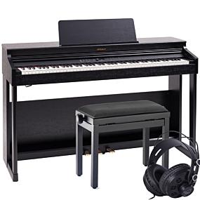 Roland RP-701 Svart Digital Piano Pakkeløsning