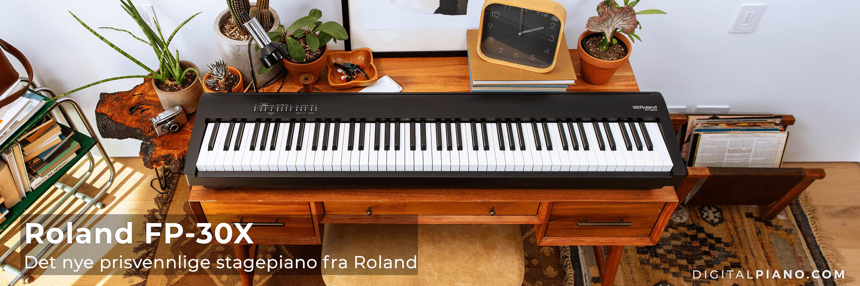 Den nye Roland FP-30X