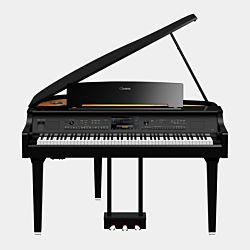 Yamaha CVP-809 Grand Piano Clavinova Blank Svart