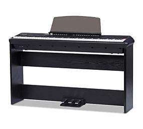 Pearl River P-200 Digital Piano Black (Incl. stand + 3-pedal)