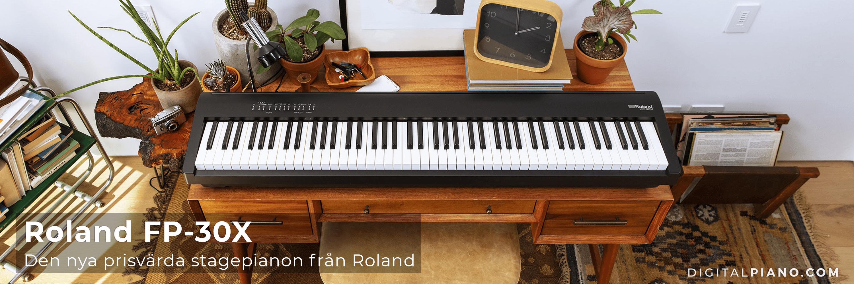 Den nya Roland FP-30X