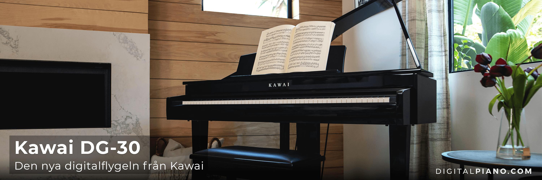Den nya digitalflygeln från Kawai: DG-30