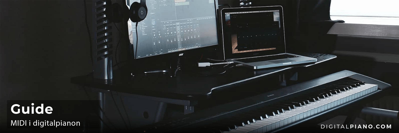 Guide till MIDI i digitalpianon
