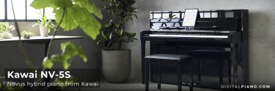Nyhet! Kawai Novus NV-5S hybrid piano