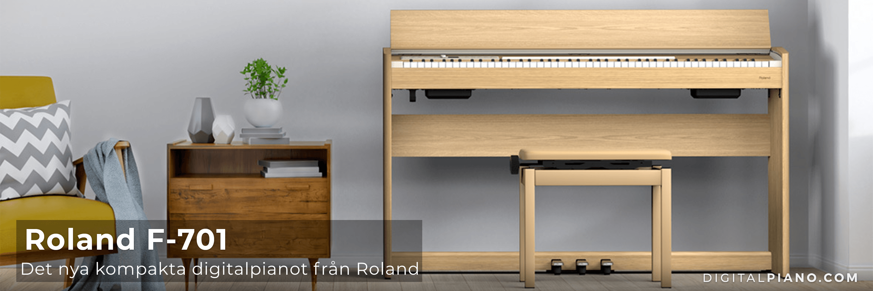 Det nya Roland F-701