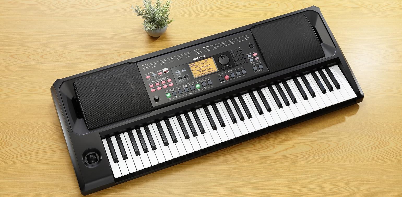 Korg presenterar EK-50 Keyboard! Förbeställ den hos oss idag!
