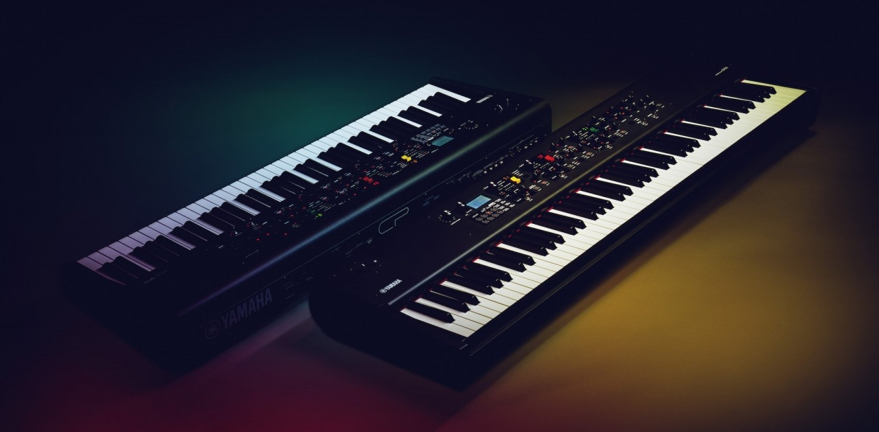 Yamaha CP88 och CP73 Stage pianon