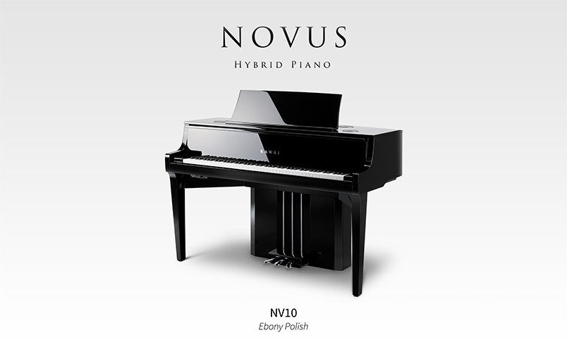 Kawai Novus NV10 - ett hybridinstrument med den sanna flygelupplevelsen!